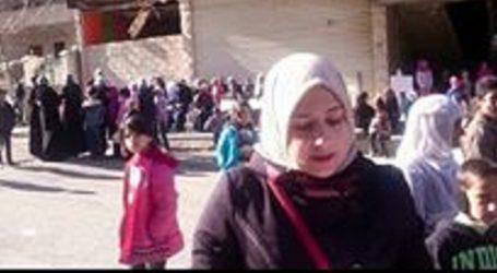 مؤمنة…سيدة سورية خسرت وزنها نتيجة الحصار ومازالت تحلم بدولة علمانية