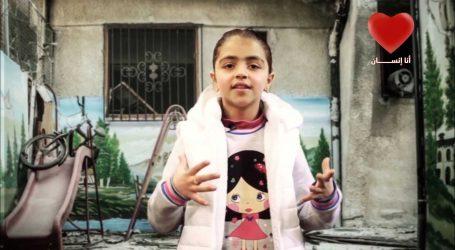 رغد … طفلة سورية تقاوم الحرب بالغناء والمسرح