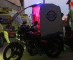 شباب سوريون من مدينة حلب يخترعون دراجة اسعافية لانقاذ الجرحى