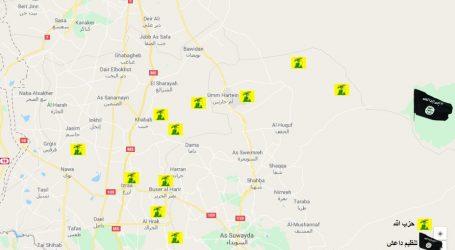 حزب الله وداعش والميليشيات الايرانية … يحاصرون مدينة السويداء